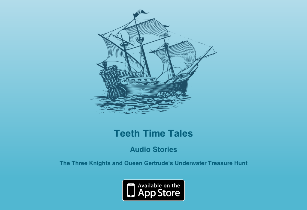 teeth time tales support website screenshot
